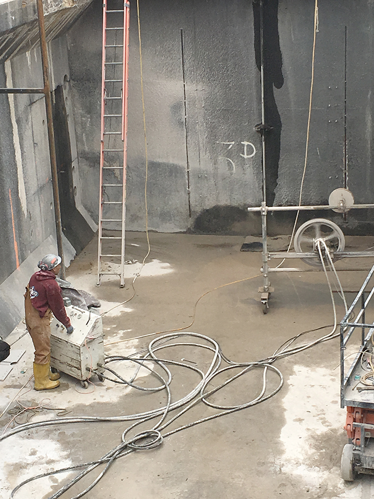 Wire Sawing | CHESCO Coring & Cutting Inc.